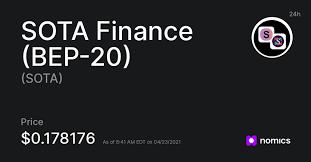 SOTA /  SOTA Finance